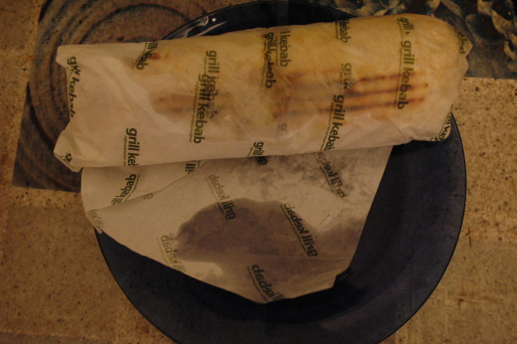 фирменная бумага шаурмы Grill kebab