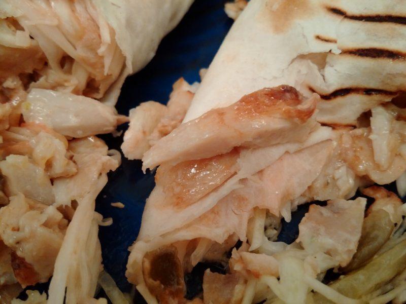 Ещё курица из шаурмы в Минской Серебрянке.